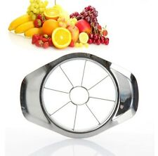 TOP QUALITY STAINLESS STEEL APPLE / FRUIT CUTTER - 2 PIECES