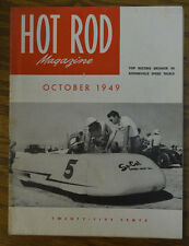 HOT ROD 1949 SO CAL SPEED SHOP STREMLINER SCTA 1ST BONNEVILLE FLATHEAD FORD VTG
