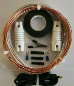 Shortwave Antenna  *The Worldwide*  50' Outdoor Bare Copper Longwire