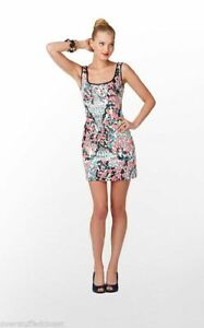 Lilly Pulitzer Lucy Dress Sweet Nothings Printed Sequin Sheath Size 2 Pink Black
