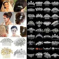 GOOD Bridal Wedding Rhinestone Crystal Hair Headband Crown Comb Tiara Pageant