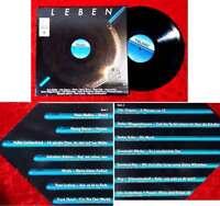 LP Leben (Teldec 625390 BK) D 1982 feat Udo Lindenberg Peter Maffay Udo Jürgens