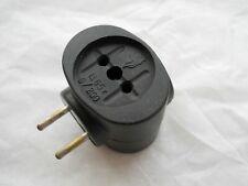 Vintage Russian Soviet USSR Electric Plug Bakelite 3 Sockets Splitter Duplicator