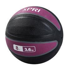 SPRI Xerball - Firm-Grip Design Exercise Ball - Plumb and Black - 8lbs / 3.63kg