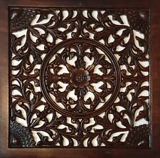 Wooden Wall Décor - Wood Carving Frame - Handmade Rosewood Wall Decorative Art