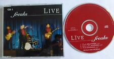 LIVE - FREAKS, 1995 CD SINGLE. RAXTD 29