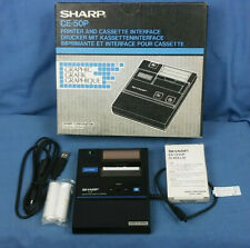 Sharp CE-50P Printer And Cassette Interface New Old Stock In Original Box