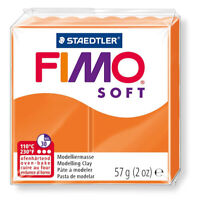 FIMO SOFT 57gr Tangerine Color - Sculpting Clay - GSW