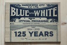 More details for manchester city v watford 2019/20 (125 years match edition 1894-2019) 21/09/2019