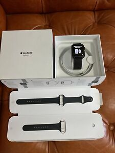 Apple Watch Series 3 42mm Stainless Steel Case with Milanese Loop (GPS+cellular)