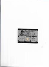 Stan Musial Jersey / Bat Card ( 1 / 1 Only Made ) St.Louis Cardinals Baseball !