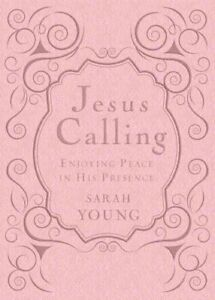 Jesus Calling, Pink Leathersoft, with Scripture references Enjo... 9781400320110