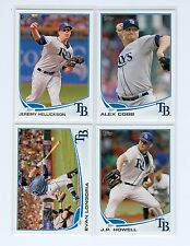 2013 Topps TAMPA BAY RAYS Team Set