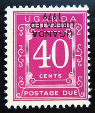 UGANDA 1979 40c Postage Due Liberation with INV/OPT U/M D5 SALE PRICE BN998