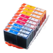 9 COLOR 920XL NEW GENERIC 920 HIGH YIELD 920XL w/Chip+INK LEVEL for HP Printer