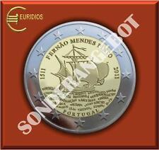 "2 Euro Gedenkmünze Portugal 2011 "" PINTO """