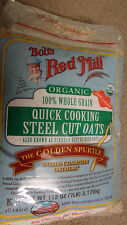 Sealed Bob's Red Mill Organic 100% Whole Grain Steel Cut Oats 7lbs Champion Oats