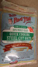 Sealed Bob's Red Mill Organic 100% Whole Grain Steel Cut Oats 7lbs Champion Oats