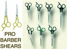VOGUE PRO 9 pcs QUALITY PRO ICE TEMPERED BARBER SHEARS for SALON or HOME use