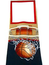 New!! Basketball Ball Net Men's Novelty Neck Tie Necktie Sleeved Steven Harris