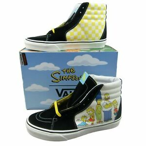 Vans x The Simpsons SK8-Hi Simpsons Family Portrait NEW VN0A4BV617E Mens Sizes