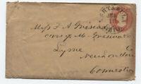 U4 nesbitt envelope Ashtabula Ohio to CT [5775.9]