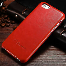 Retro Luxury Leather Vertical Flip Fitted Case Cover Skin For Apple iPhone 6 6S
