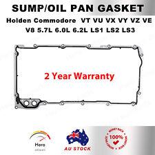 SUMP/OIL PAN GASKET Holden COMMODORE VT VU VX VY VZ V8 5.7 6.0L 6.2L LS1 LS2 LS3