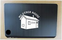 Ice fishing shelter decal in 8 colors