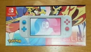 Nintendo Switch Lite Pokemon Zacian and Zamazenta Edition NEW Fast Free Shipping