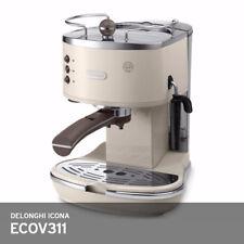Delonghi Icona Vintage ECOV 311 Coffee Machine 220V 1000W Auto-Off FreeUPS Beige
