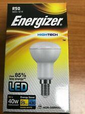 LED Energizer 6W Frost R50 Bulbs  = 40W E14 430lm Soft Tone Warm White 2700K