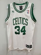 Vintage Adidas NBA Boston Celtics Paul Pierce 34 Swingman Jersey Mens S Sewn