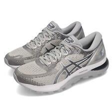 Asics Gel-Nimbus 21 Grey Silver Women Running Training Shoe Sneaker 1012A156-020