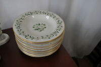 "Princess China Tru-tone Bridal Veil 8"" Soup Bowl Salad Bowl Set of 4 NICE!! 12AV"