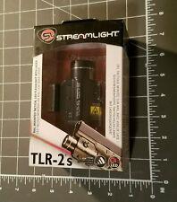Streamlight TLR-2S Picatinny Rail Mounted Tactical Flashlight & Laser
