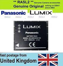 Genuine Original Panasonic DMW-BCE10E Battery HM-TA1 SDR- S10 S15 S26 S7 S9 SW20
