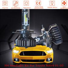 For Toyota RAV4 01-05 2x 9003 COB LED 6000K White  Headlight Bulbs Hi/Low Beam