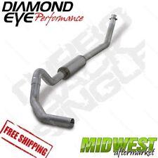 "Diamond Eye 4"" Turbo Back Exhaust Fits 1998.5-2002 Dodge 5.9L Cummins 2500 3500"