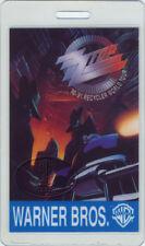 Zz Top 1990 Recycler Tour Laminated Backstage Pass