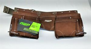 New Suede/Leather Tool Pouch, 11 Pockets and Tool Holders