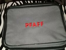 PFAFF SEWING Accessories TOTE Bag Grey Lots Zippered Pockets Outside Compartment