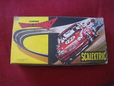 RARE VINTAGE SCALEXTRIC SUPER RACING CURVS REF 3085 USED IN BOX - EXIN ESPAÑA