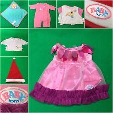 Zapf Baby Born Kleidung und Zubehör zum aussuchen #