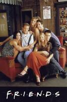 Friends Poster - Premium Serienplakat Hochformat 68,5 x 101,5 cm - kommt gerollt