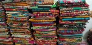 Indian Wholesale Lot 10 PC Throw Blanket Kantha Quilt Vintage Cotton Bedspreads