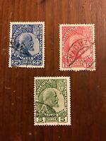 Liechtenstein Stamps Collection Scott#1 2 3 CV $90 H
