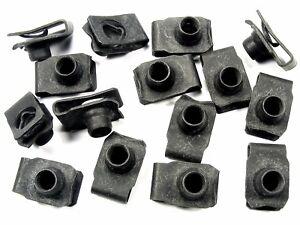 GM U-nut Clips- M8-1.25 Thread- 14.5mm Center To Edge- 15 clips- #196