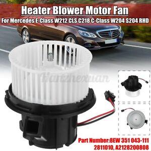 Heater Blower Motor Fan For Mercedes E-Class W212 CLS C218 C-Class W204 S204