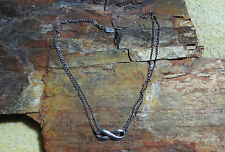 "James Avery 925 Sterling Adjustable Infinity Necklace From 16"" to 18"" Long"